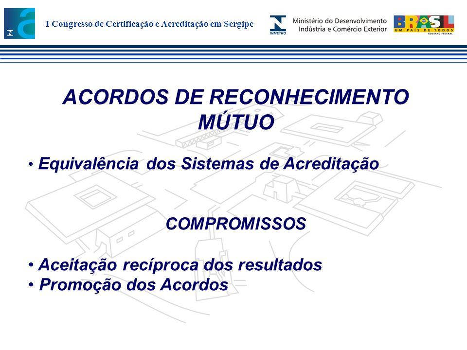 ACORDOS DE RECONHECIMENTO MÚTUO