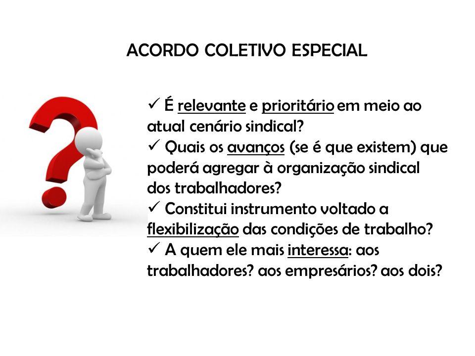 ACORDO COLETIVO ESPECIAL