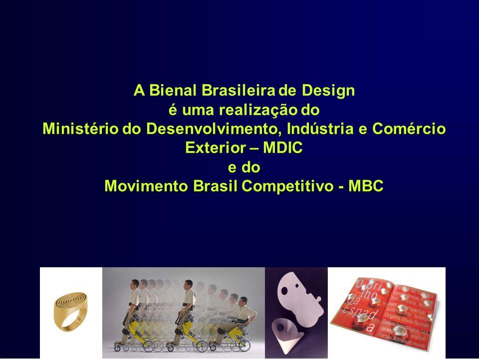 A Bienal Brasileira de Design e do Movimento Brasil Competitivo - MBC