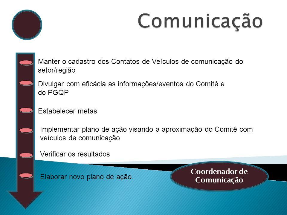 Coordenador de Comunicação