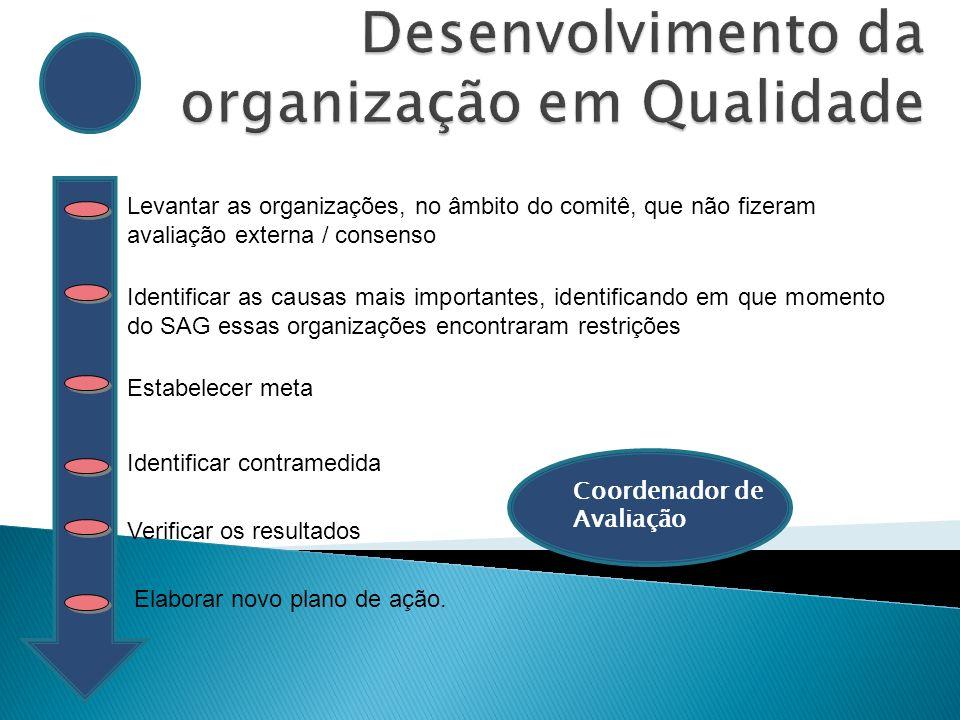 Desenvolvimento da organização em Qualidade