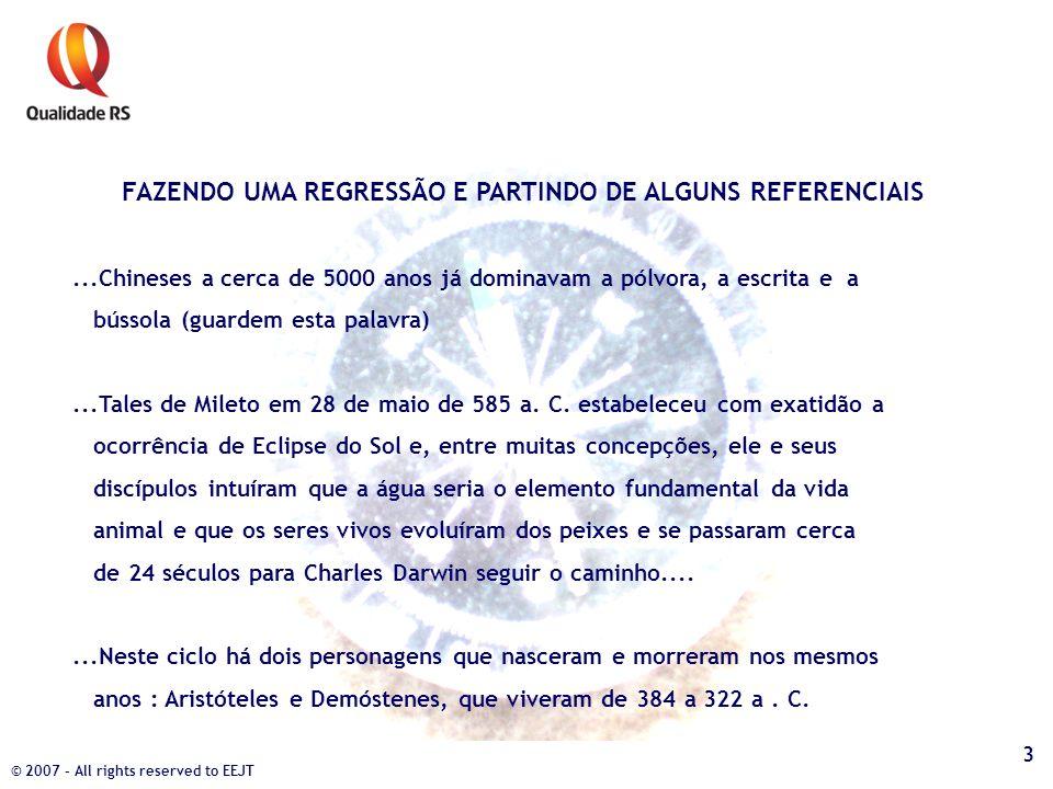 FAZENDO UMA REGRESSÃO E PARTINDO DE ALGUNS REFERENCIAIS