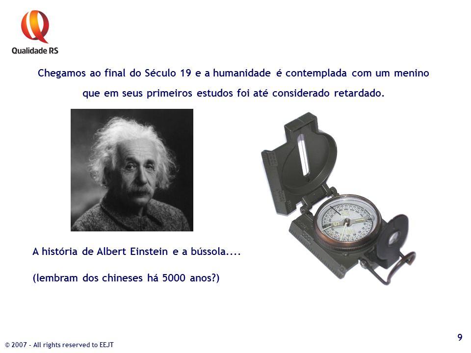A história de Albert Einstein e a bússola....
