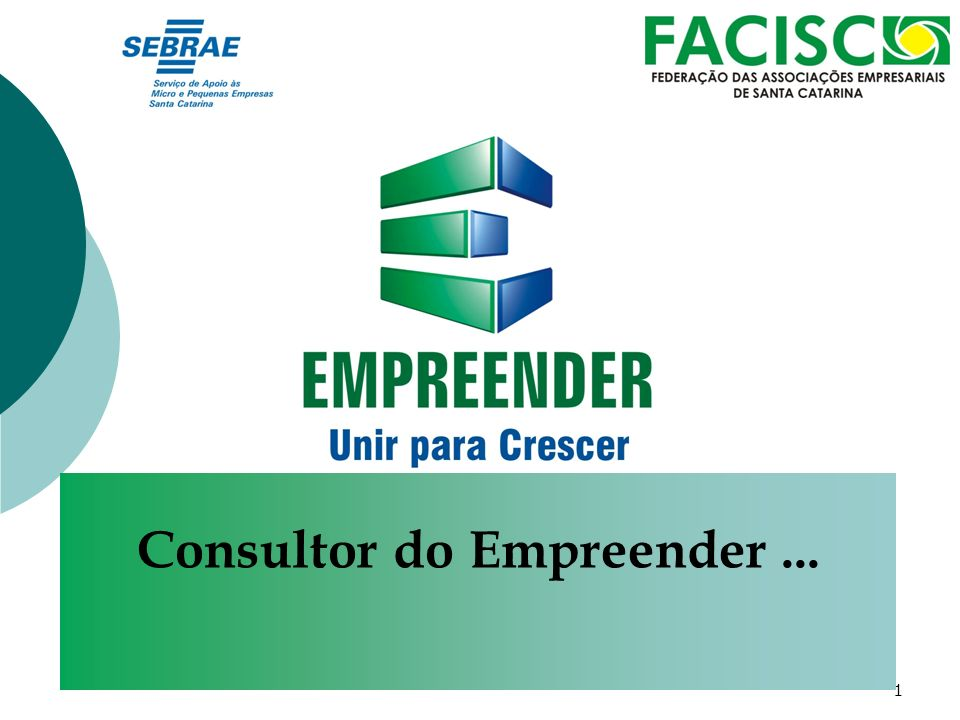 Consultor do Empreender ...