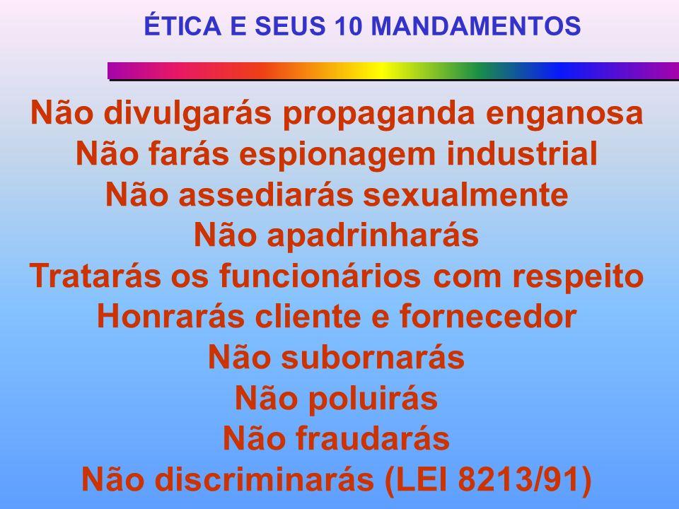 ÉTICA E SEUS 10 MANDAMENTOS