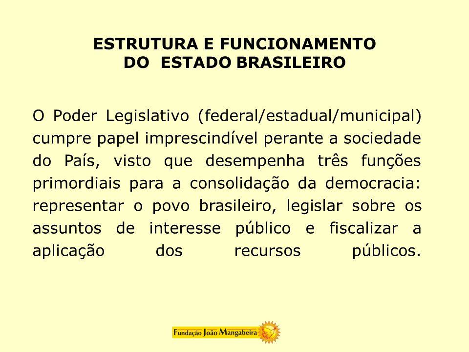 ESTRUTURA E FUNCIONAMENTO