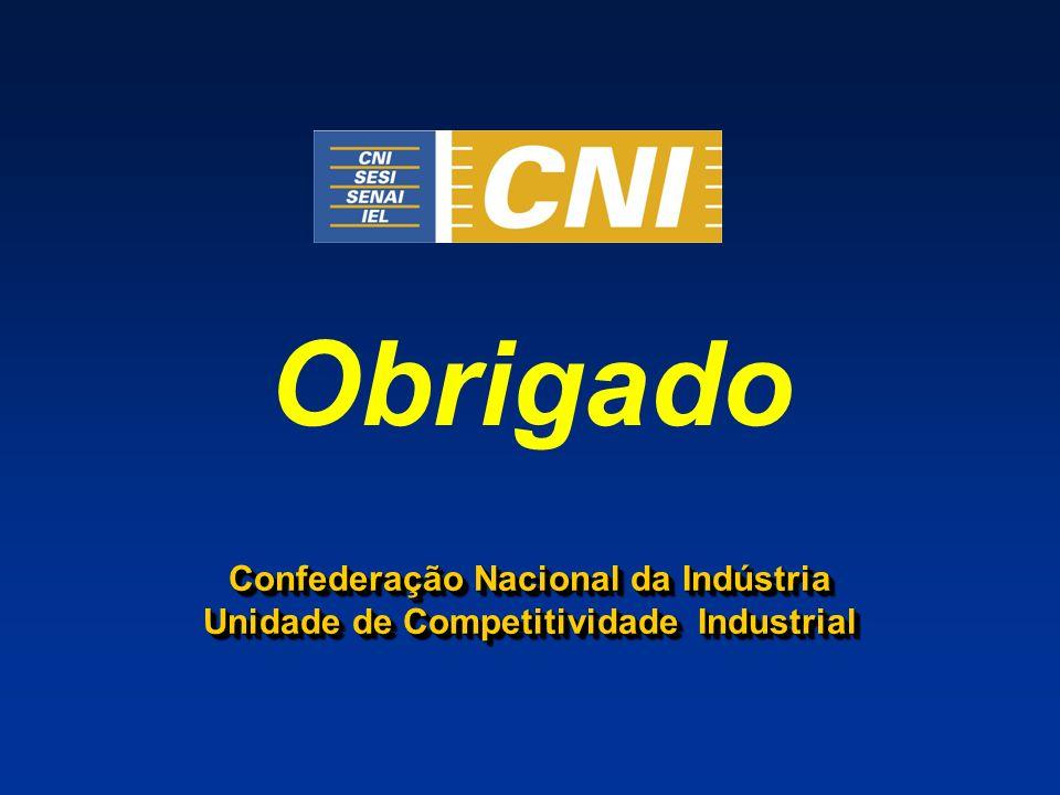 Obrigado Confederação Nacional da Indústria