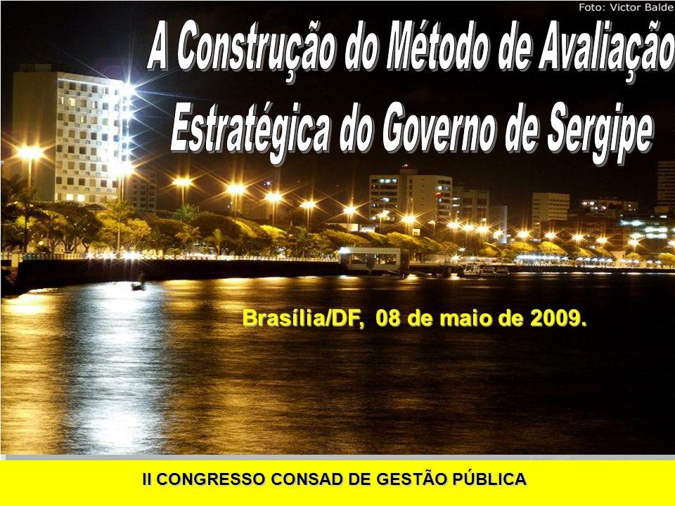 A Construção do Método de Avaliação Estratégica do Governo de Sergipe
