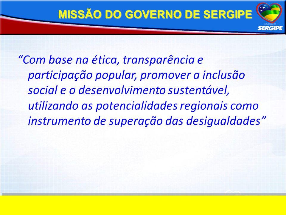 MISSÃO DO GOVERNO DE SERGIPE