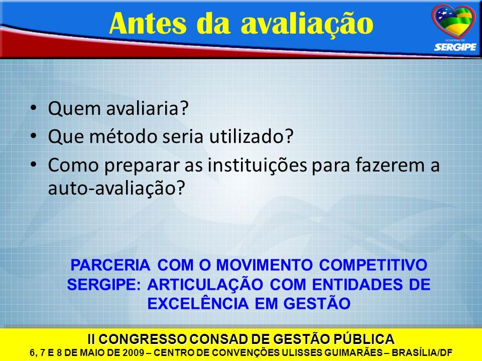 II CONGRESSO CONSAD DE GESTÃO PÚBLICA