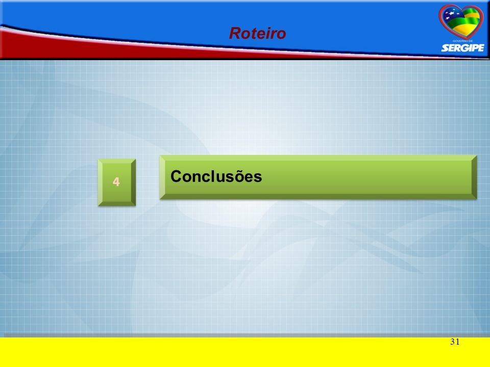 Roteiro Conclusões 4 31 31