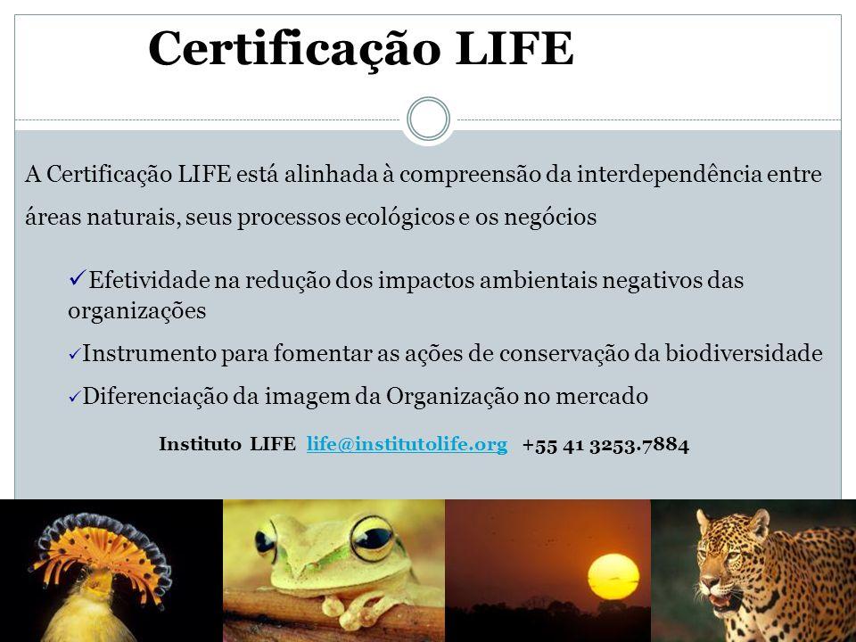 Certificação LIFE LIFE