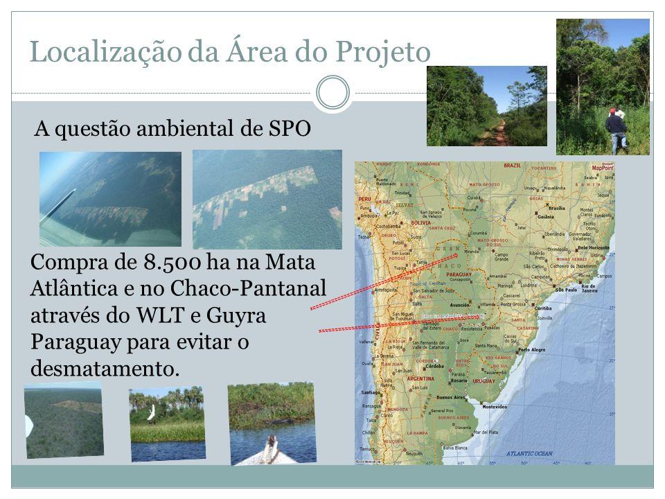Localização da Área do Projeto