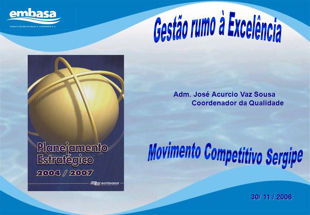 Gestão rumo à Excelência Movimento Competitivo Sergipe