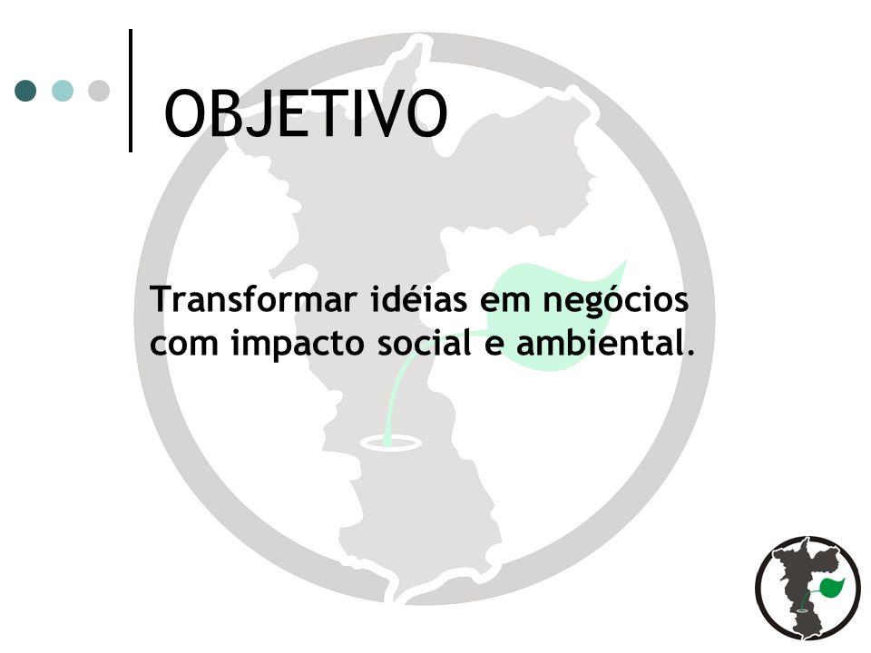 Transformar idéias em negócios com impacto social e ambiental.