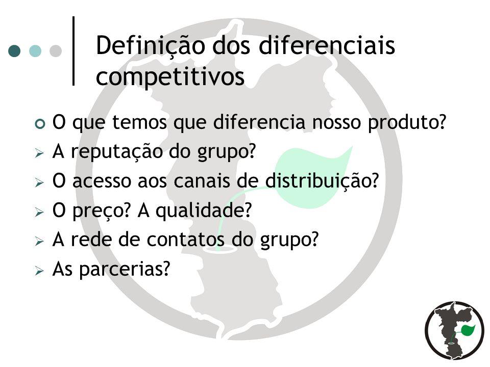 Definição dos diferenciais competitivos