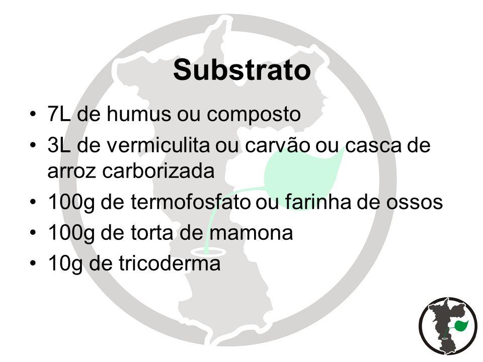 Substrato 7L de humus ou composto