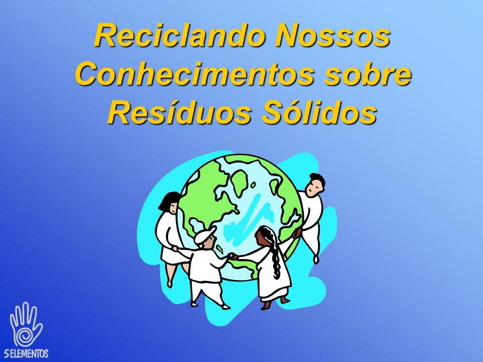Reciclando Nossos Conhecimentos sobre Resíduos Sólidos