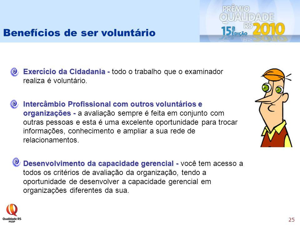 Benefícios de ser voluntário