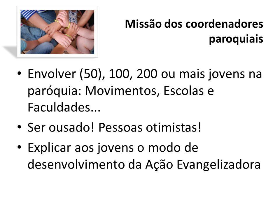 Missão dos coordenadores paroquiais