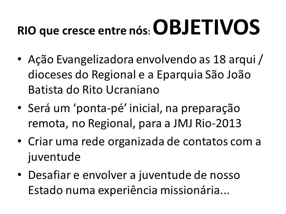 RIO que cresce entre nós: OBJETIVOS
