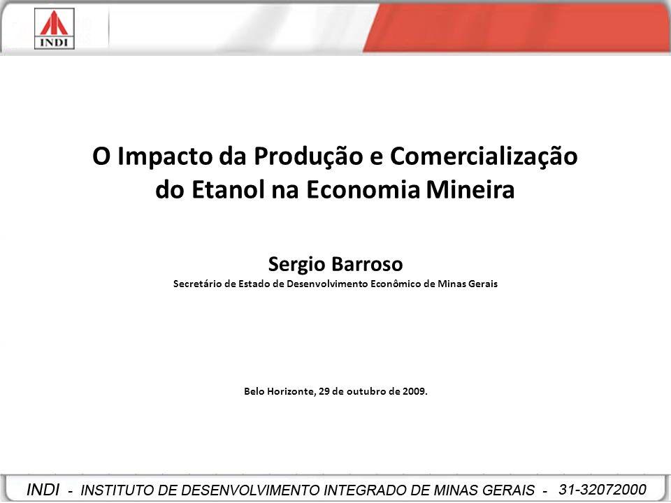 O Impacto da Produção e Comercialização do Etanol na Economia Mineira