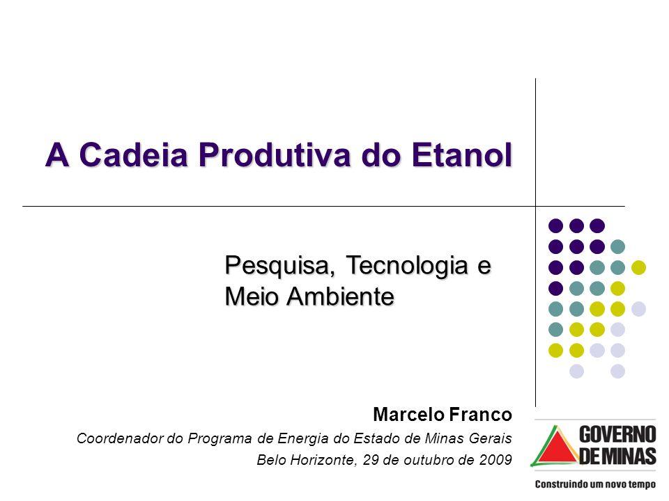 A Cadeia Produtiva do Etanol