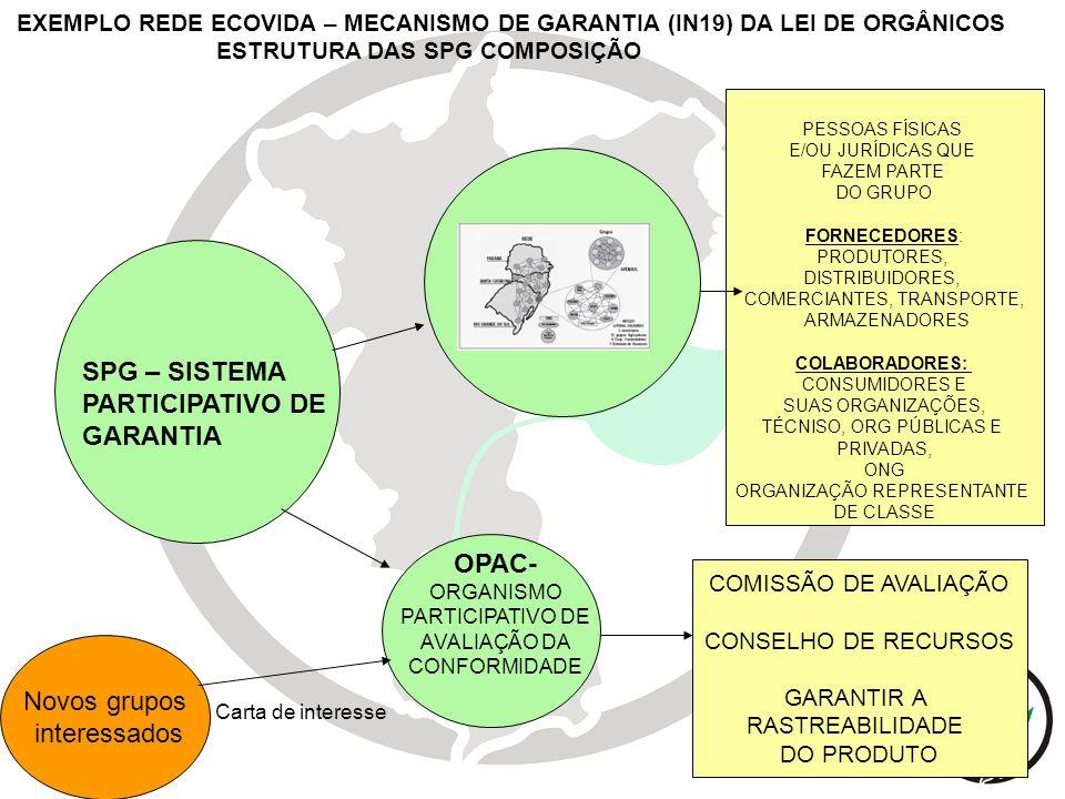 SPG – SISTEMA PARTICIPATIVO DE GARANTIA