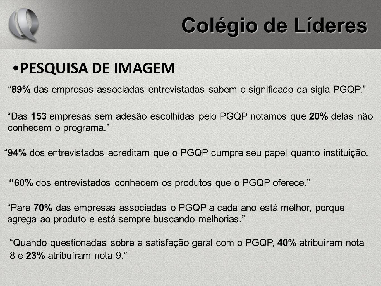 Colégio de Líderes PESQUISA DE IMAGEM