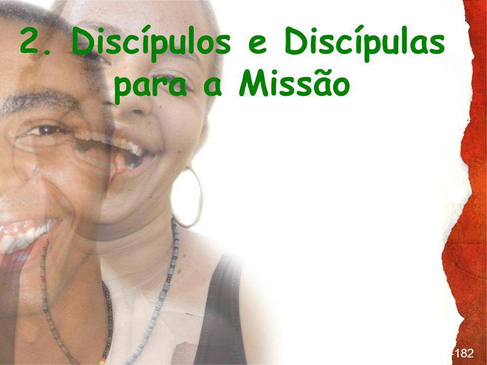 2. Discípulos e Discípulas para a Missão