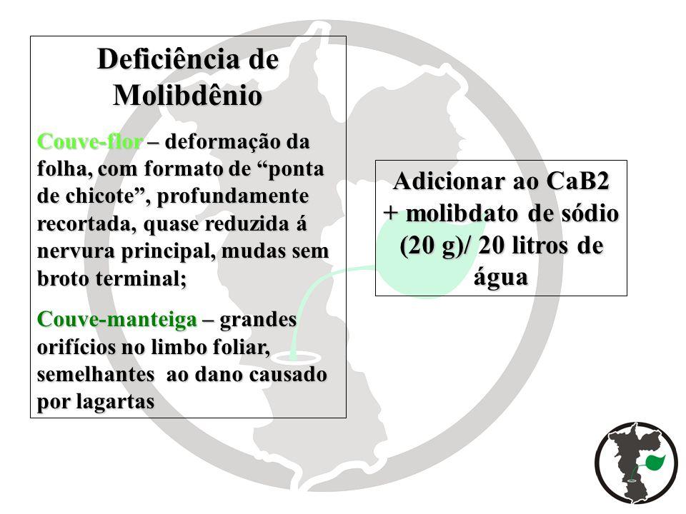 Deficiência de Molibdênio