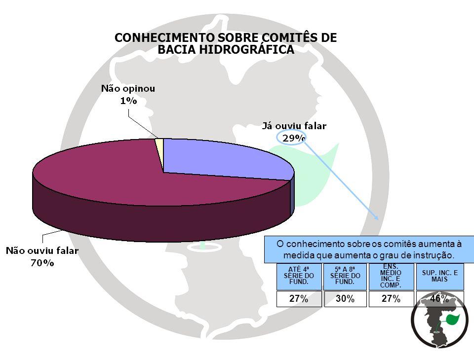 CONHECIMENTO SOBRE COMITÊS DE