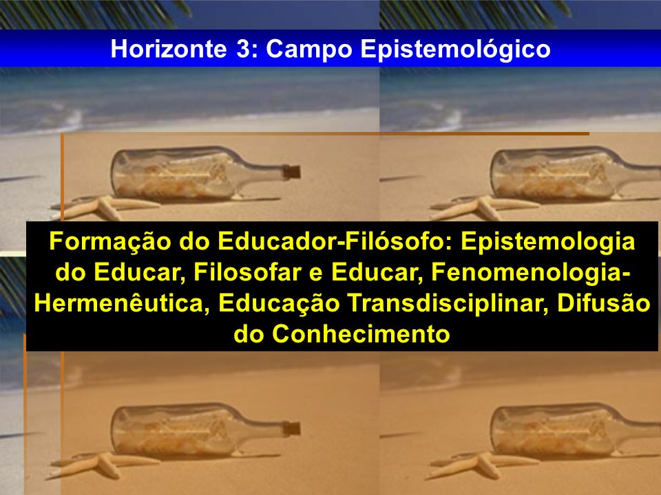 Horizonte 3: Campo Epistemológico