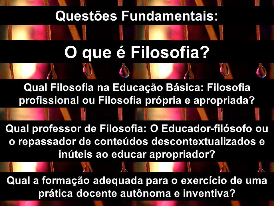 Questões Fundamentais: