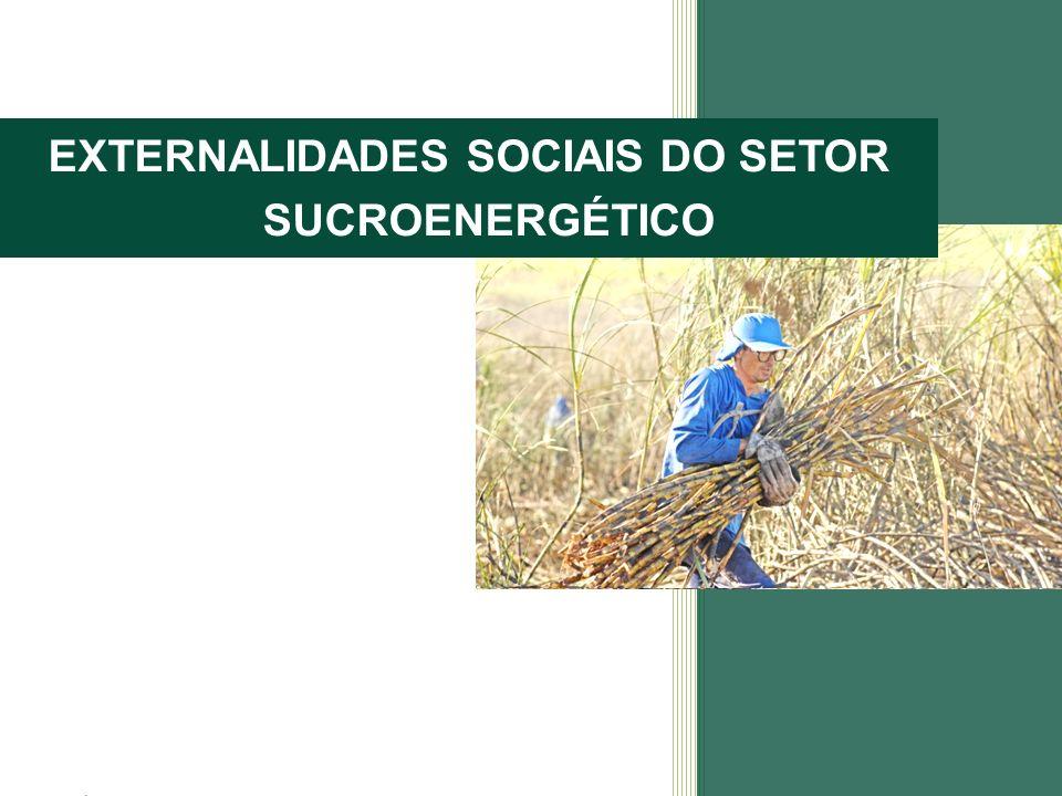 EXTERNALIDADES SOCIAIS DO SETOR SUCROENERGÉTICO
