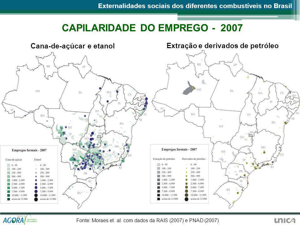 CAPILARIDADE DO EMPREGO - 2007