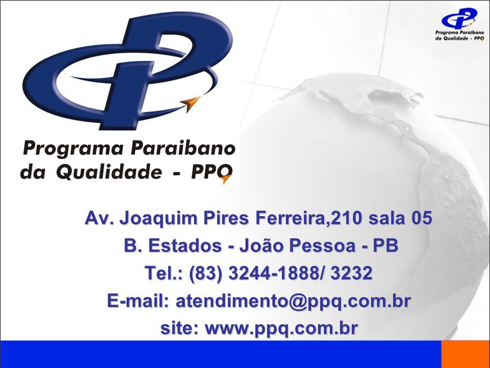 Av. Joaquim Pires Ferreira,210 sala 05 B. Estados - João Pessoa - PB
