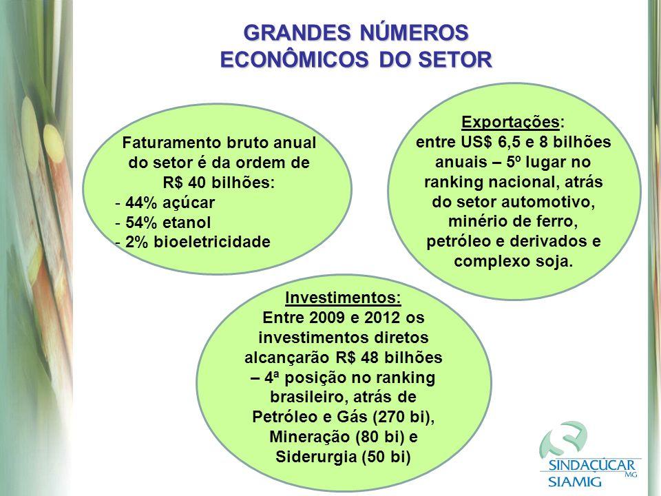 GRANDES NÚMEROS ECONÔMICOS DO SETOR