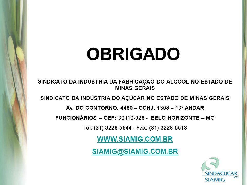 OBRIGADO WWW.SIAMIG.COM.BR SIAMIG@SIAMIG.COM.BR