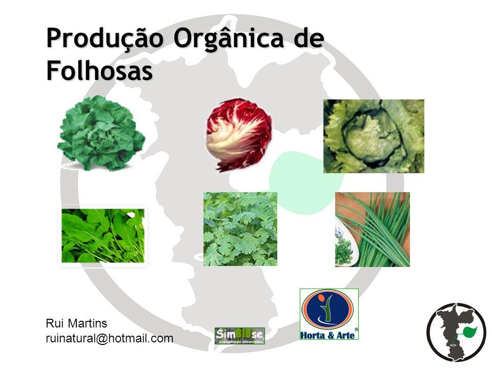 Produção Orgânica de Folhosas