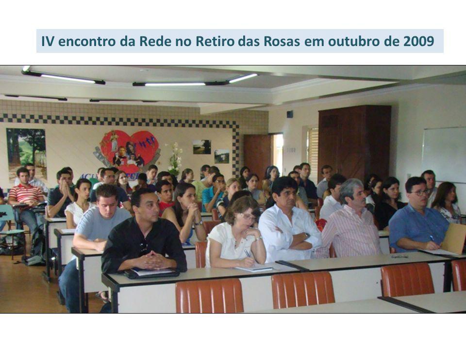 IV encontro da Rede no Retiro das Rosas em outubro de 2009