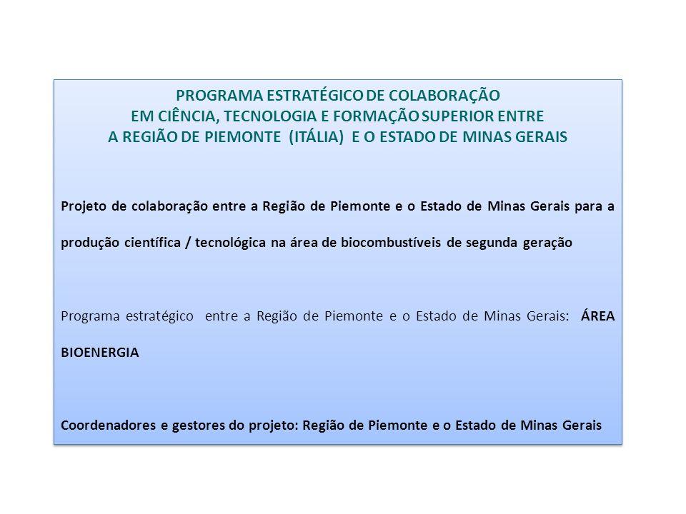 PROGRAMA ESTRATÉGICO DE COLABORAÇÃO