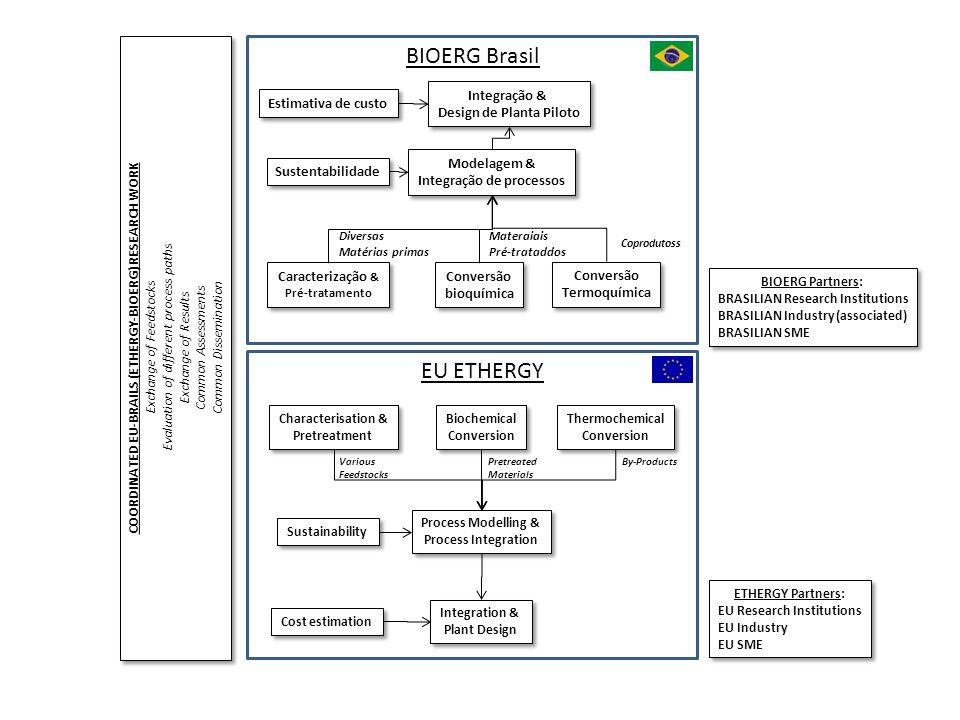 BIOERG Brasil EU ETHERGY Integração & Design de Planta Piloto