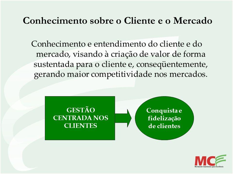 Conhecimento sobre o Cliente e o Mercado