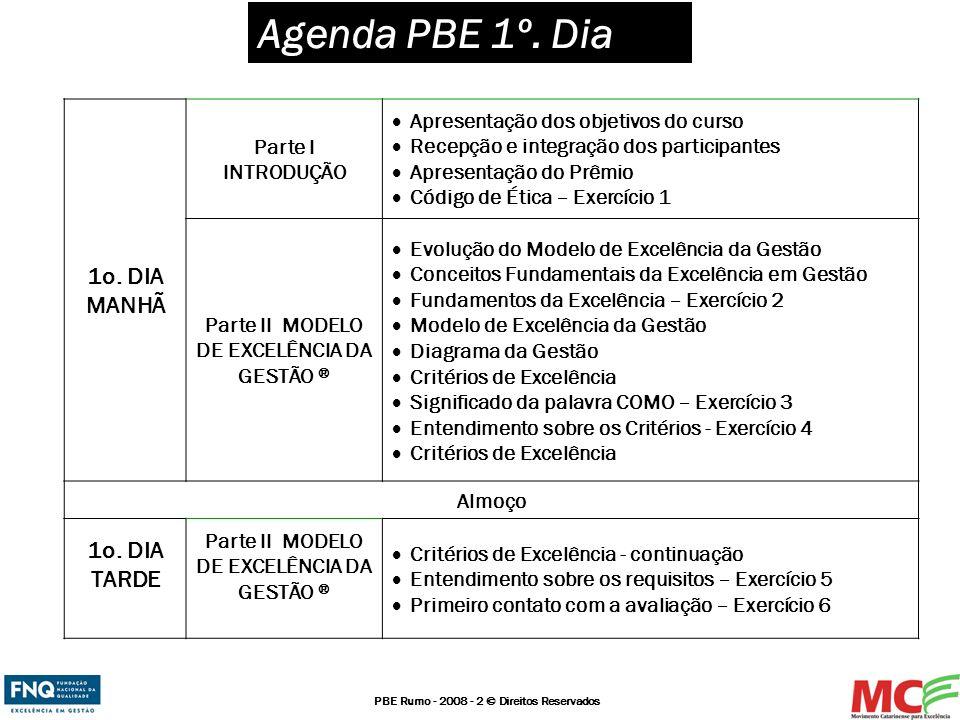 Parte II MODELO DE EXCELÊNCIA DA GESTÃO ®