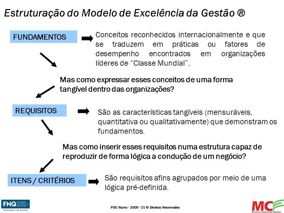 Estruturação do Modelo de Excelência da Gestão ®