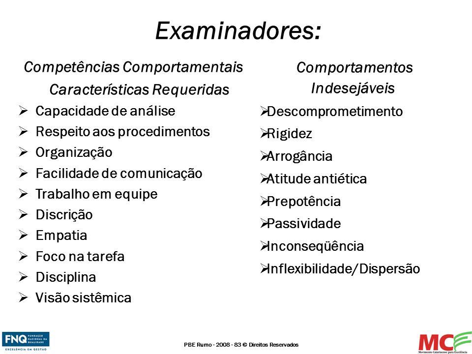 Competências Comportamentais Características Requeridas