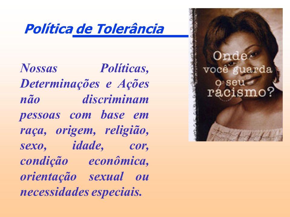 Política de Tolerância