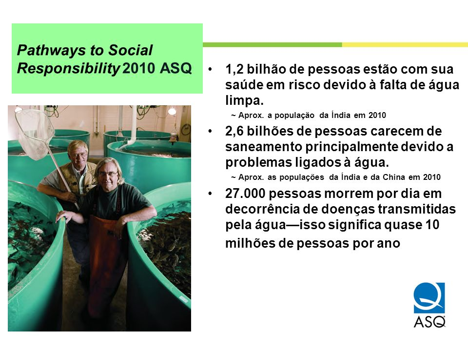 Pathways to Social Responsibility 2010 ASQ
