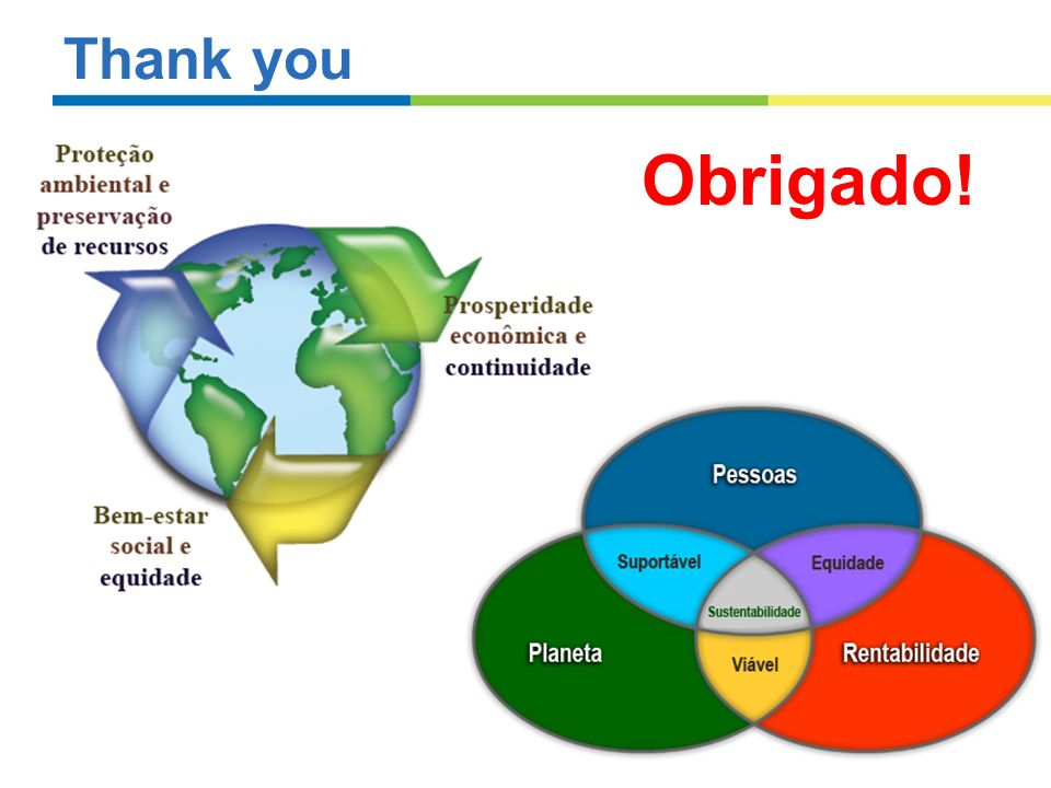 Thank you Obrigado!